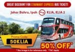 klia bus express promo and discount