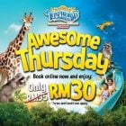 selected thursday lost world of tambun ipoh promo