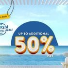 50 % off selected hotel with traveloka promotion
