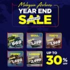 malaysia airlines year end sale